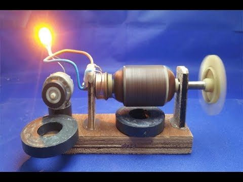 Free Energy Generator Dc Motor With Dynamo Diy Experiment Generator At Home 2018 Youtube Free Energy Generator Free Energy Projects Free Energy