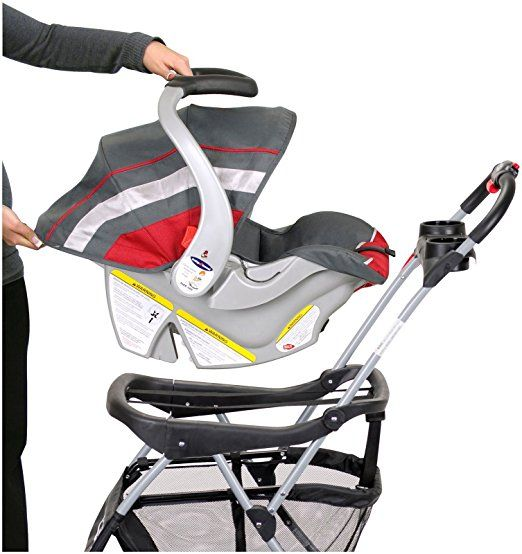 Baby Trend Snap N Go EX Universal Infant Car Seat Carrier