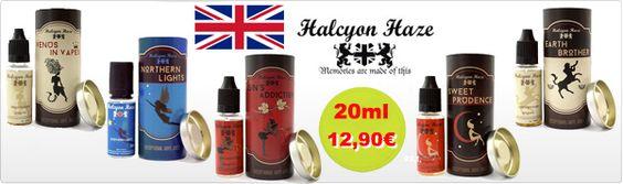 OFERTA ! Líquidos Británicos para cigarrillos electrónicos- Marca: Halcyon Haze UK - 11,50€ comprando 3 unidades / 12.90€ 1 unidad -Altísima Calidad  http://www.vapvapor.es/liquidos-halcyon-haze