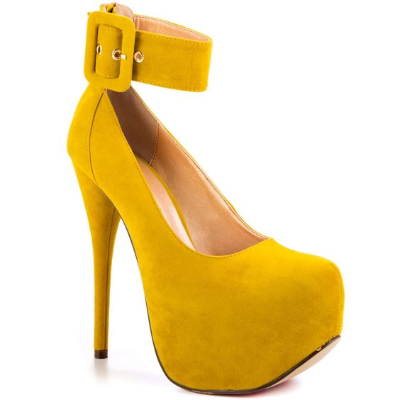 Xtra Special - Yellow Suede Luichiny | LUICHINY | Pinterest