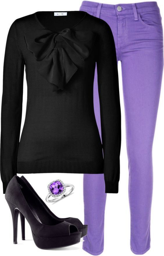 """Bow and Bows"" by helsingmusique ❤ liked on Polyvore"