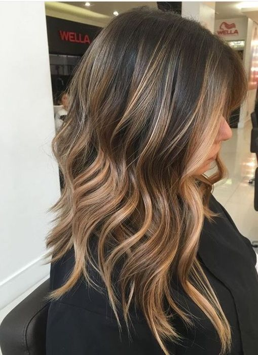 Golden Brown Hair Color Shade For Simple Hairstyles