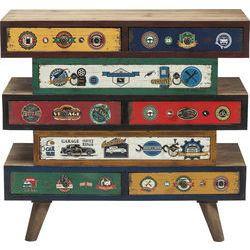 Dresser Garage Style 8 Drawer by KARE Design #dresser #garage #drawer #colorful #KARE #KAREDesign