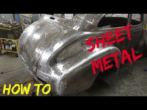 How To Sheet Metal Repair Or Patch Easily Youtube Auto Body