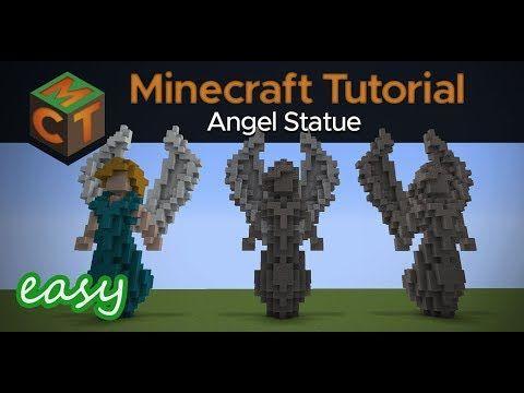 Youtube Minecraft Tutorial Minecraft Minecraft Statues