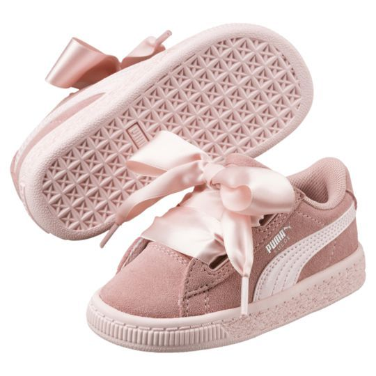 Suede Heart Jewel Toddler Shoes | Sapatos infantis, Sapato