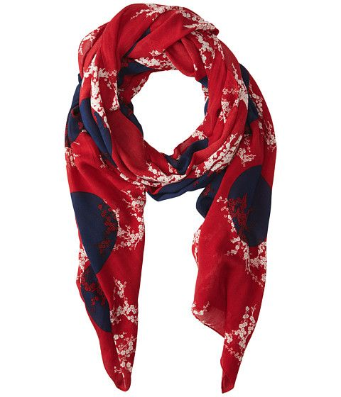 Marc by Marc Jacobs Kaipop Flower Scarf