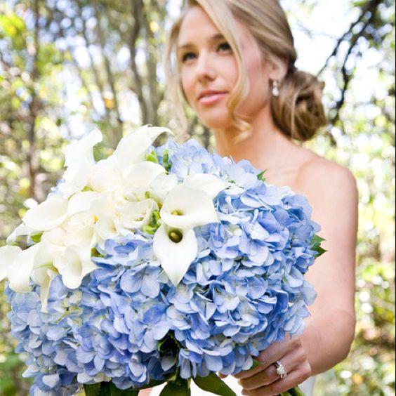 Hydrangea bouquets :)