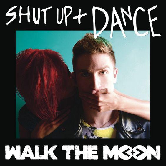 Walk the Moon – Shut Up and Dance (single cover art)