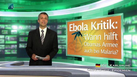Ebola Kritik: Wann hilft Obamas Armee auch bei Malaria? (klagemauer.tv)