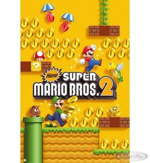 Super Mario Poster Super Mario Bros. 2 Hier bei www.closeup.de