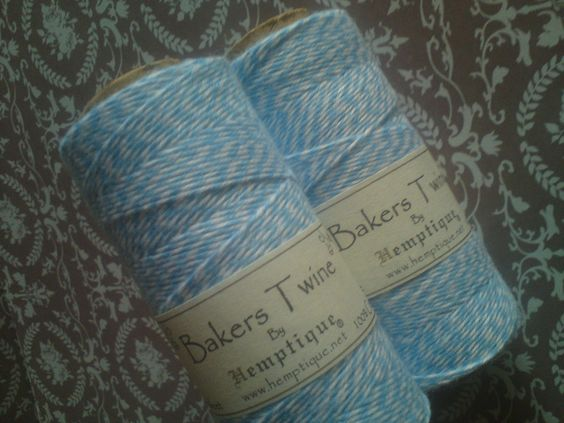 ♥♥ Bakers Twine Light Blue