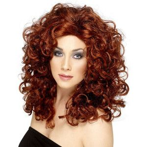 red wigs for black women | Curly Wig red curly wig curls ...