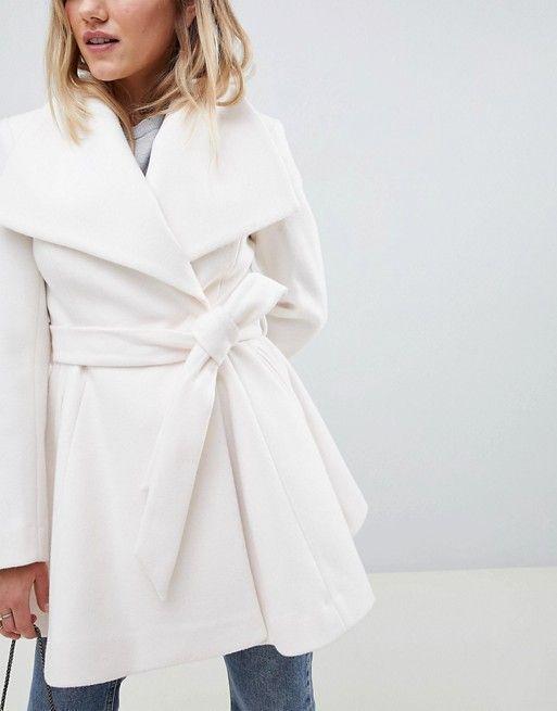 Winter Wedding Dress Coat, Asos Winter White Coats
