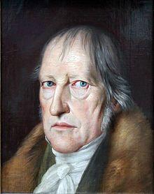 Georg Wilhelm Friedrich Hegel dachte das Alte Äon zu Ende und wagte das triadische Denken des neuen Äons