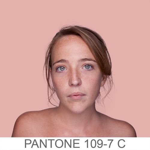 Humanae: Human Pantone (a project by Angelica Dass, Brazil)    http://humanae.tumblr.com/