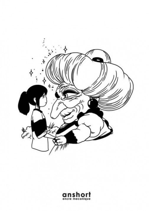 Animedrawing Anime Drawing Coloring Com Imagens A Viagem De