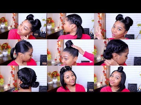 10 Quick Easy Hairstyles Shoulder Length Hair Youtube Shoulder Length Hair Shoulder Hair Relaxed Hair