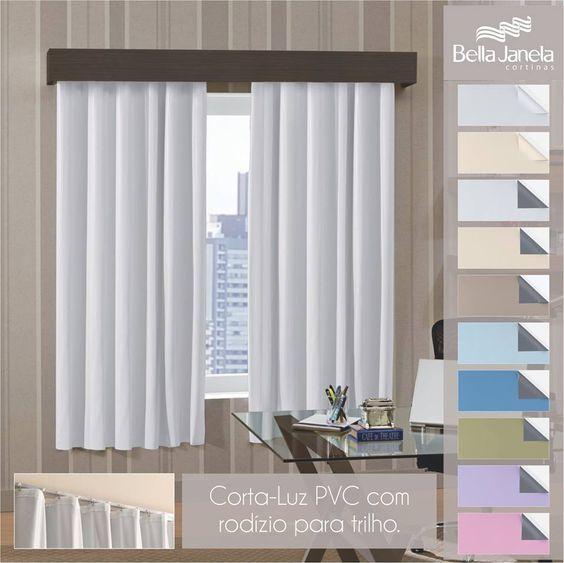 Na sua janela você prefere só um corta-luz? Nós temos eles coloridos para coordenar com seu ambiente!