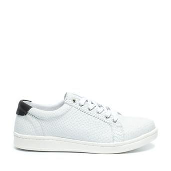 Speciale Ossom Lage sneakers (Wit) Lage sneakers van het merk Ossom voor Dames. Uitgevoerd in Wit in Leer.