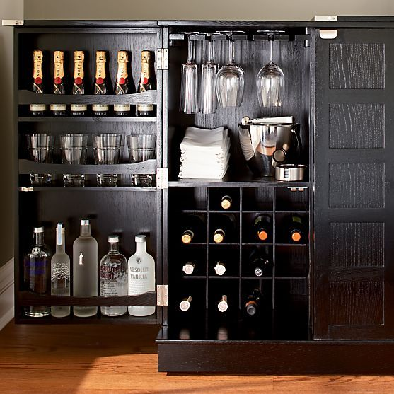 Steamer Bar Cabinet Crate And Barrel Furniture Crate And Barrel And Glasses