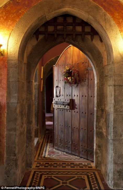 There must be a doorway like this in Great Bournestone Manor somewhere...
