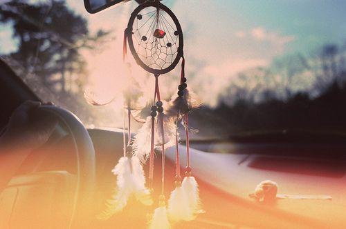 dreamcatcher for my car :)