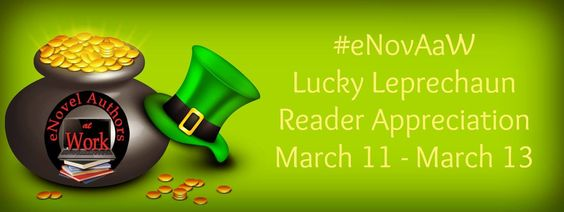 Come and join us for the biggest ever Facebook party. Win a Kindle, cash, gift cards, eBooks, paperbacks, extra special flash prizes offered regularly. :)  http://bit.ly/LuckyLeprechaunFBParty