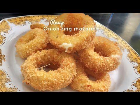 Onion Rings Mozzarella Reciepe Resep Cara Membuat Onion Rings Mozarela Crunchy Youtube Em 2020 Receitas Receitas Culinarias Culinaria