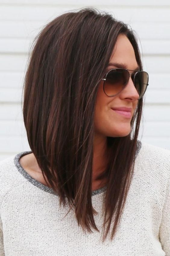 Best 25 Long Angled Bob Hairstyles Ideas On Pinterest Gallery 2 Of 15 Long Bob Hairstyles Long Bob Haircuts Angled Bob Hairstyles