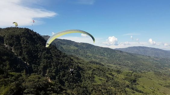 Paragliding over giant waterfalls - Image 3