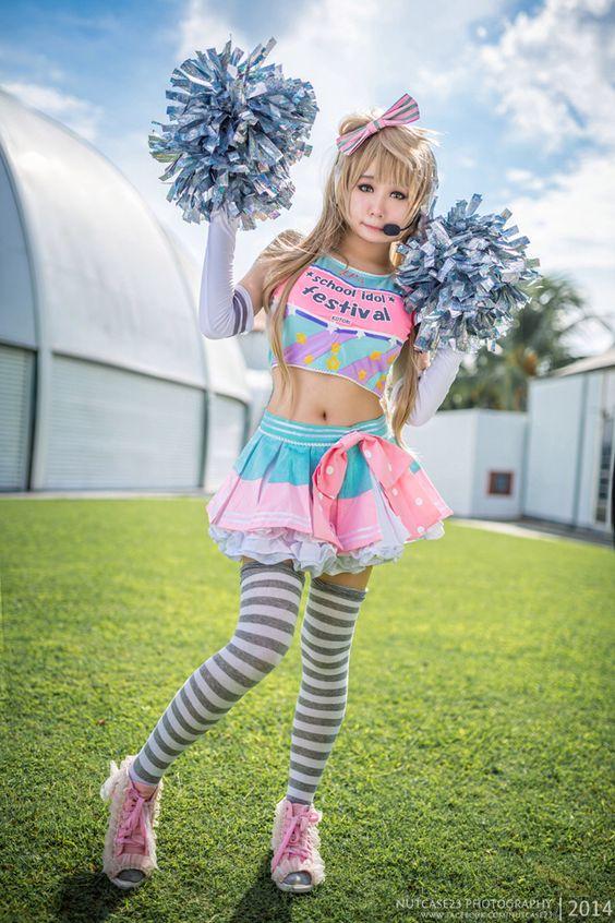 Love Live Kotori Minami cheerleader cosplay: