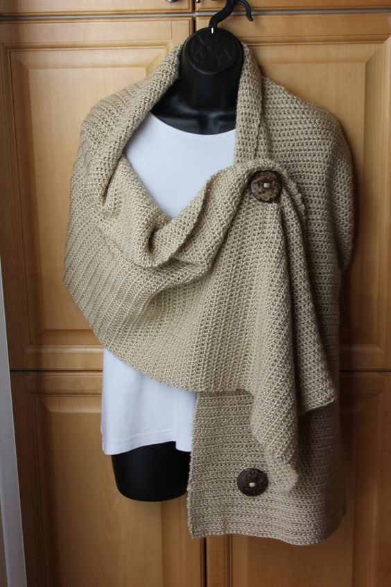Would love to be able to knit something like this Scarves Pinterest Sti...