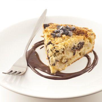 Gâteau crumble aux poires et au chocolat - Chocolat & Caetera