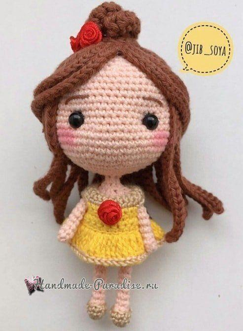 Amigurumi Rapunzel bebek ve ayıcık – 10marifet.org | 672x493