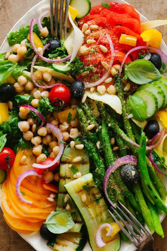 Sommer Griechischer Salat    Golubka Küche