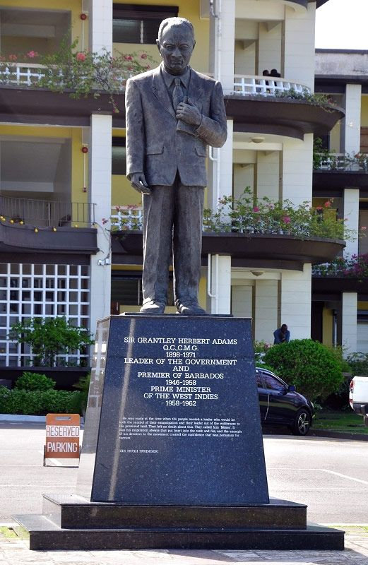 Born in 1898, he was the first Premier of Barbados and the first and only Prime Minister of the then West Indies Federation.