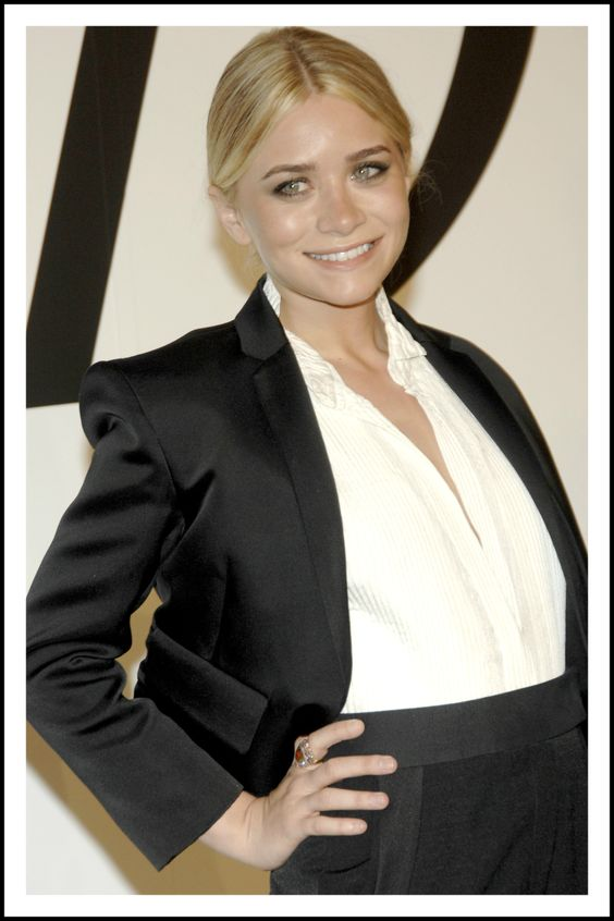 Ashley Olsen from the Row at the 2008 CFDA Fashion Awards. @Swarovski