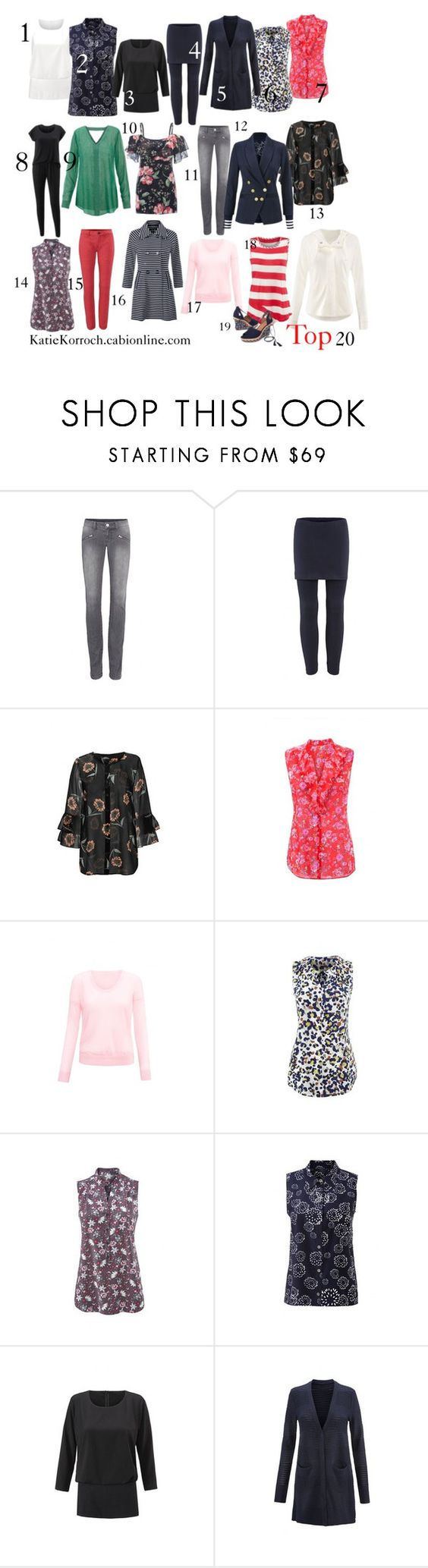 """""""Top 20 Spring 2017"""" by katiedid59 on Polyvore featuring CAbi"""