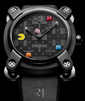 TIMEPIECES | ROMAIN JEROME. Pac-Man watch!