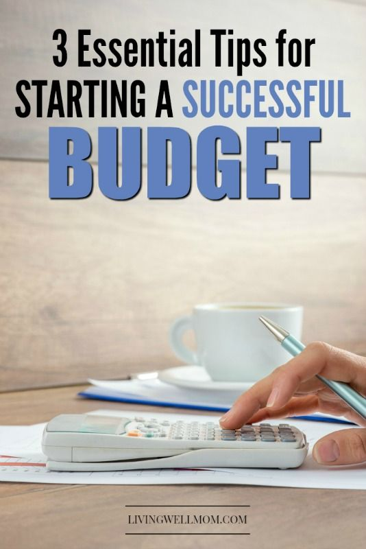 Tired of living paycheck to paycheck or simply want to get your finances on track? Find out how to start a successful budget, without getting overwhelmed, using these 3 simple tips. Get your money working for YOU, instead of the other way around!