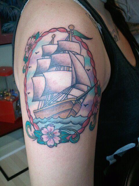 allison @ trinity tattoo