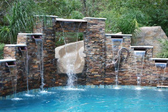 Pinterest the world s catalog of ideas - Crystal pools waterfall ...