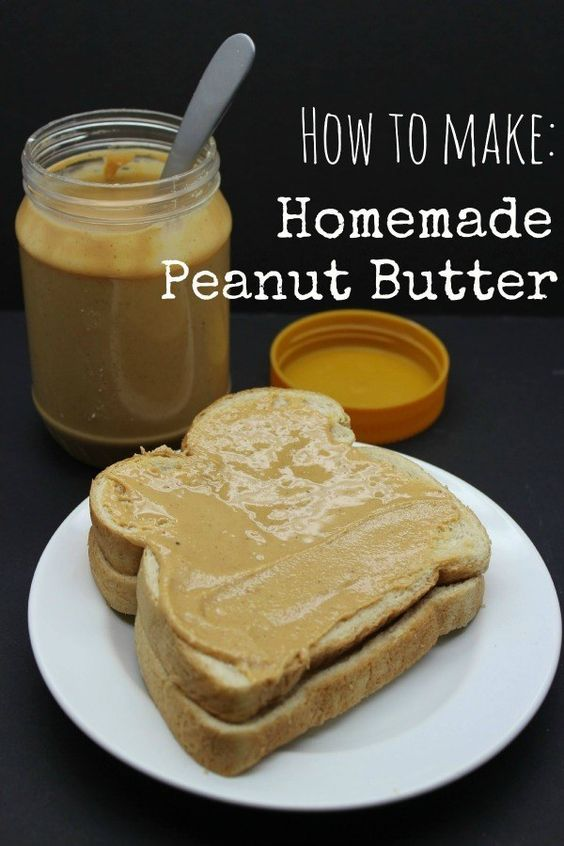 Homemade peanut butter, How to make homemade and Peanut butter on ...