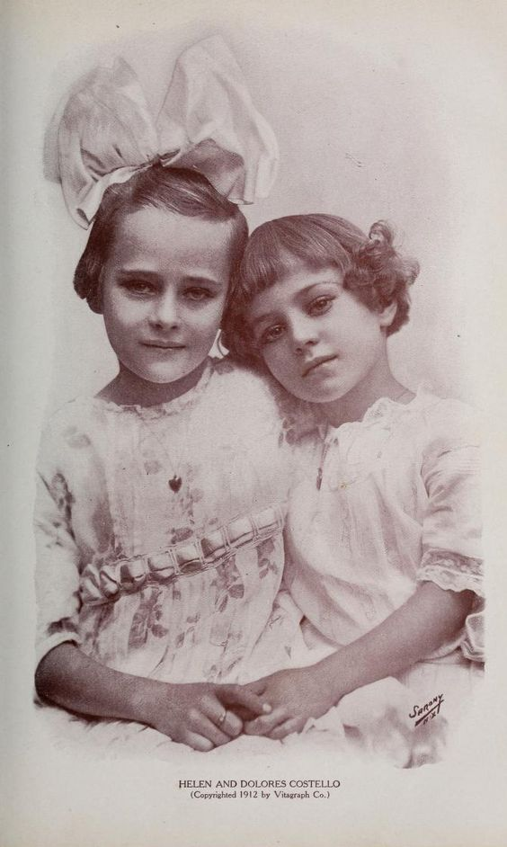 Helen & Dolores Costello (Dolores married John Barrymore Sr. & was Drew Barrymore's grandmother):