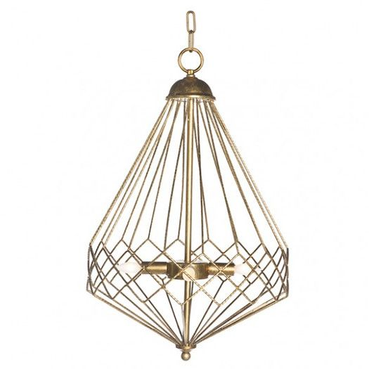 AG Hom Chan Geo 9 Light Look Drum Chandelier: