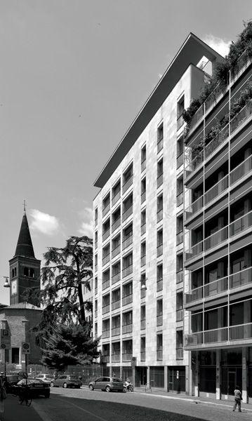 Casa del cedro giulio minoletti 1951 1957 via for Cedro agitare piani di casa