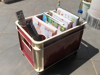convertir caja de bebidas en revistero multiusos- Aprendiz: manualidades reciclando!!:
