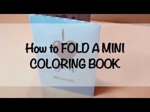 Valentine Mini Coloring Book Youtube Coloring Books Mini Books Book Print
