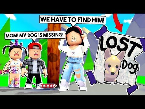 My Kids Lost The Dog Our Dog Is Missing Roblox Adopt Me Pets Update Youtube Roblox Roblox Memes Roblox Pictures